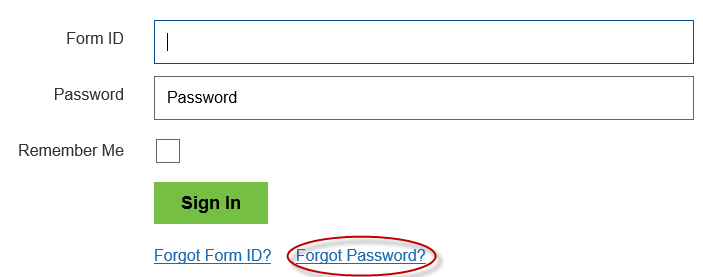 Forgot password?