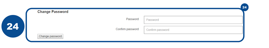 24 After changing your password you can sign back into your form